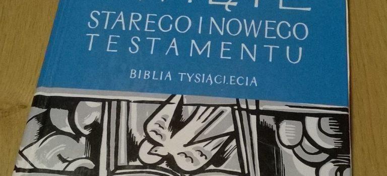 Pismo Święte Starego i Nowego Testamentu – Biblia